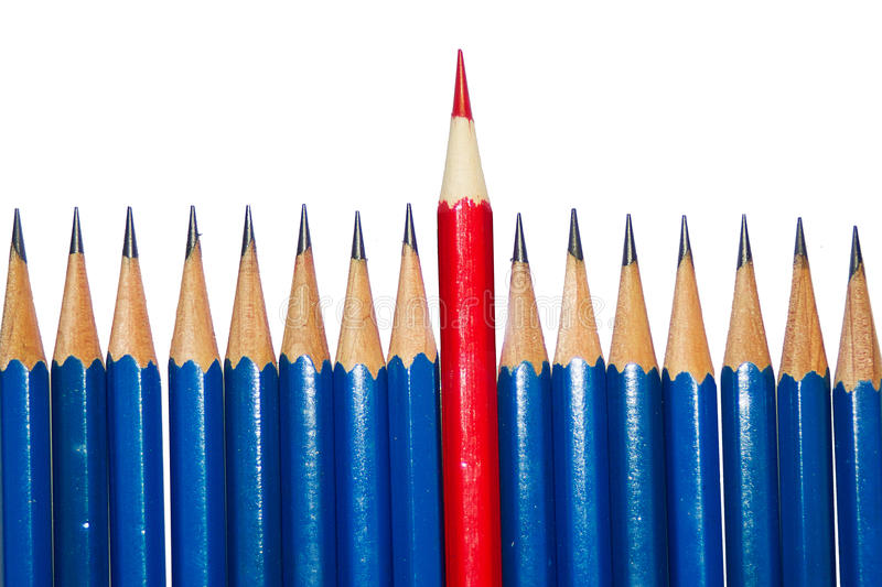 Stationery Used to paint the art. royalty free stock photography