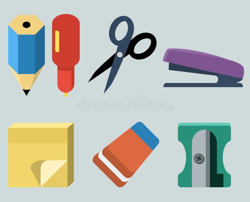 Stationery stock illustration