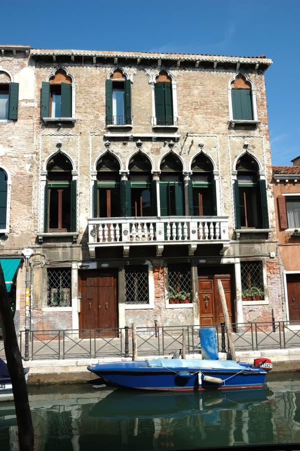 Stationnement à Venise images libres de droits