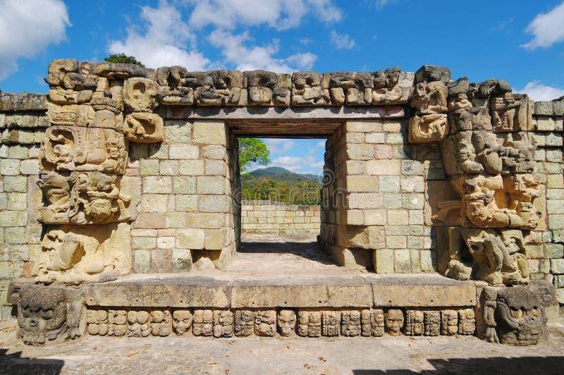 Stationnement archéologique de Copan photos stock