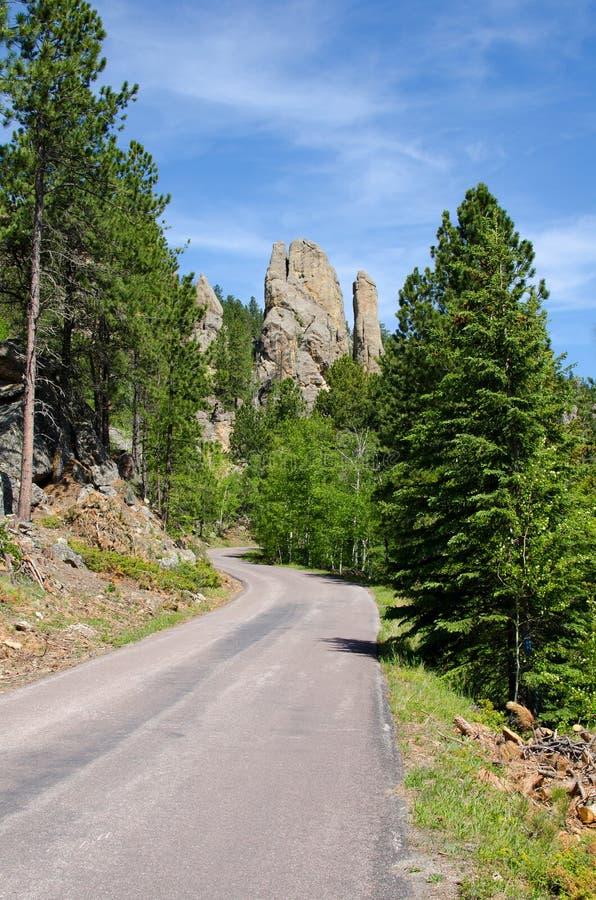 Stationnement d'état de Custer, Black Hills, le Dakota du Sud, Etats-Unis photos stock