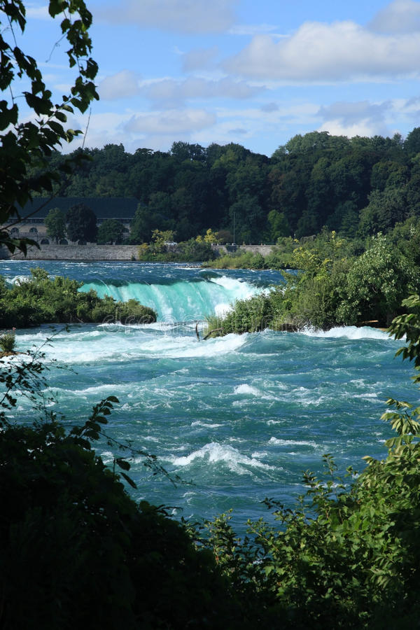Stationnement d'état de Niagara Falls photographie stock libre de droits