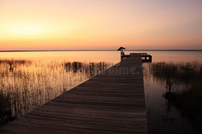 Stationnement d'état de Waccamaw de lac, OR photo stock