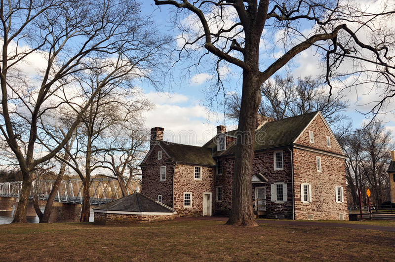 Stationnement d'état Home- colonial de croisement de Washington, PA photographie stock
