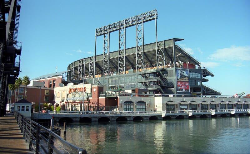 Stationnement d'AT&T - San Francisco Giants image libre de droits