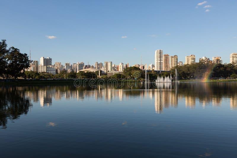 Stationnement d'Ibirapuera, Sao Paulo photos stock