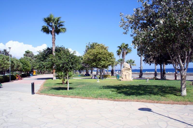 Stationnement dans Ayia Napa Chypre photos stock