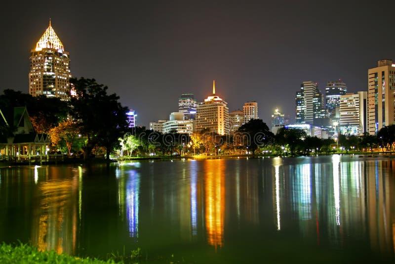Stationnement de Bangkok photographie stock libre de droits