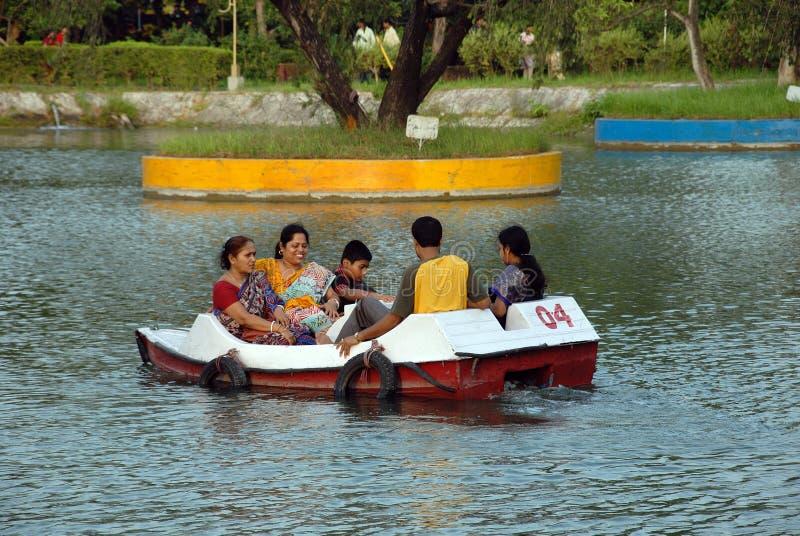 Stationnement de Nicco en Kolkata-Inde photo libre de droits