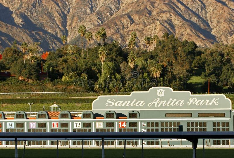 Stationnement de Santa Anita photographie stock