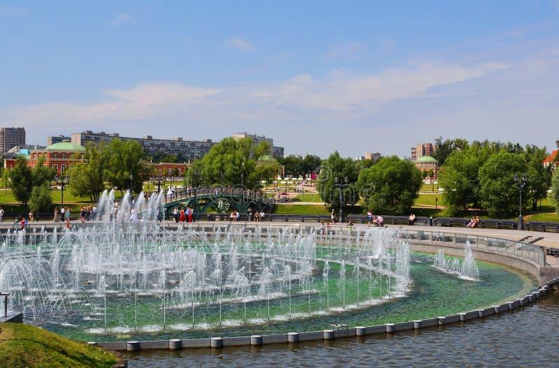 Stationnement de Tsaritsino à Moscou photo stock