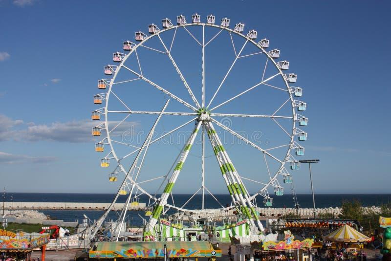Stationnement du Feria de Abril, Barcelone photos stock