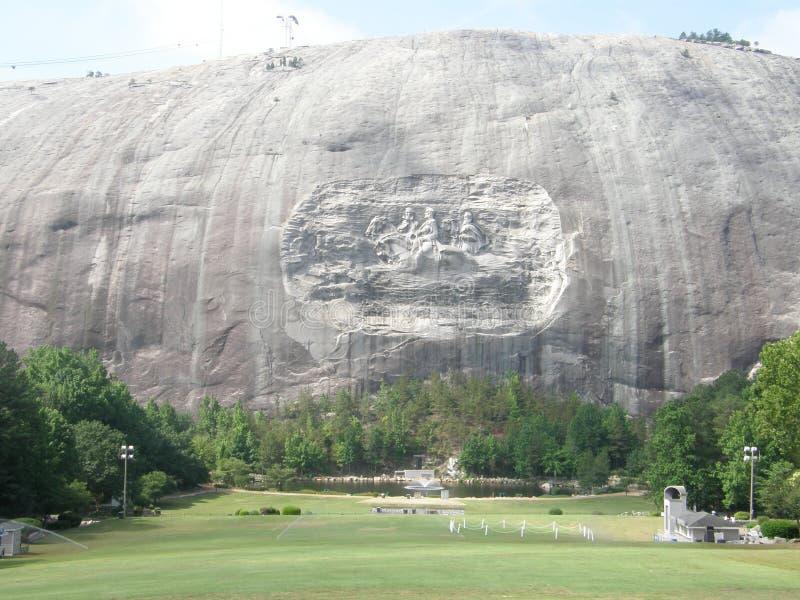 Stationnement en pierre de montagne photo libre de droits