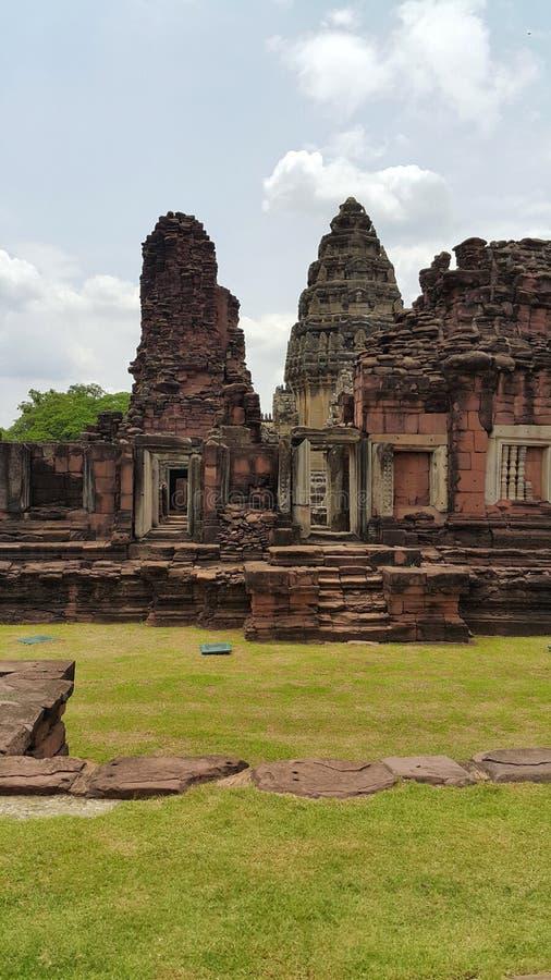 Stationnement historique de Phimai photos libres de droits