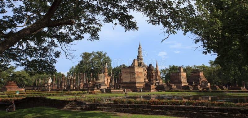 Stationnement historique thaï photo libre de droits