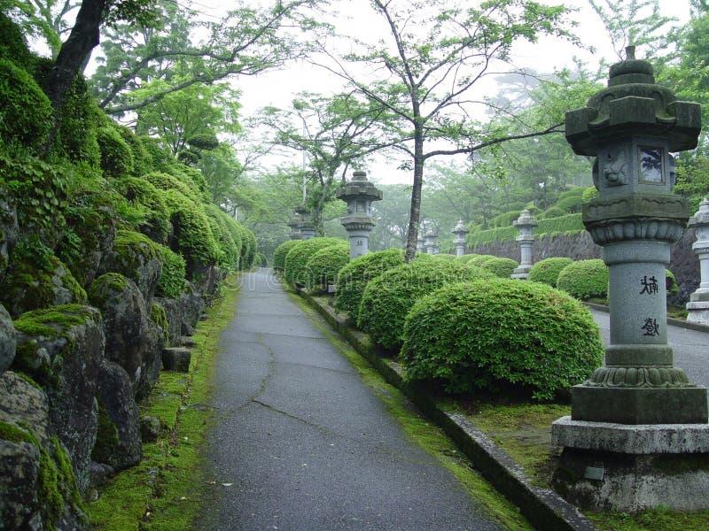 Stationnement japonais à Tokyo image libre de droits