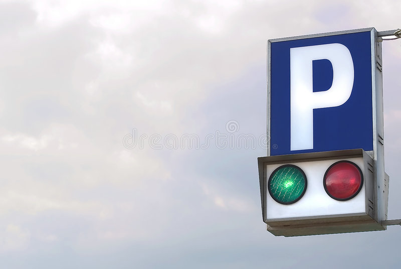 Stationnement Libre Photos stock