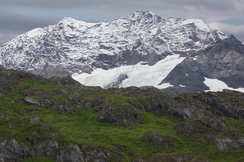 Stationnement national Alaska de compartiment de glacier images stock