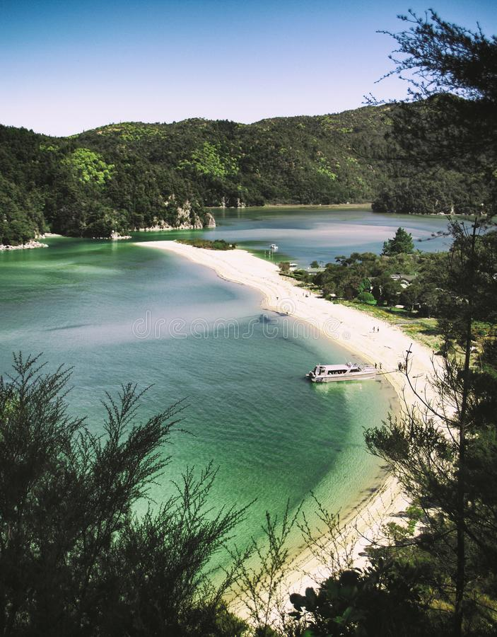 Stationnement national d'Abel Tasman photo stock