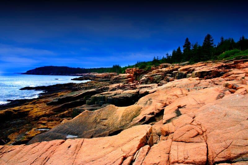 Stationnement national d'Acadia photo stock