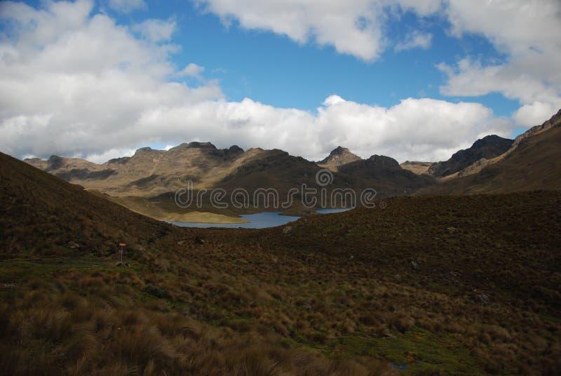 Stationnement national d'Ecuadorian photographie stock