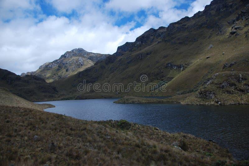 Stationnement national d'Ecuadorian image stock