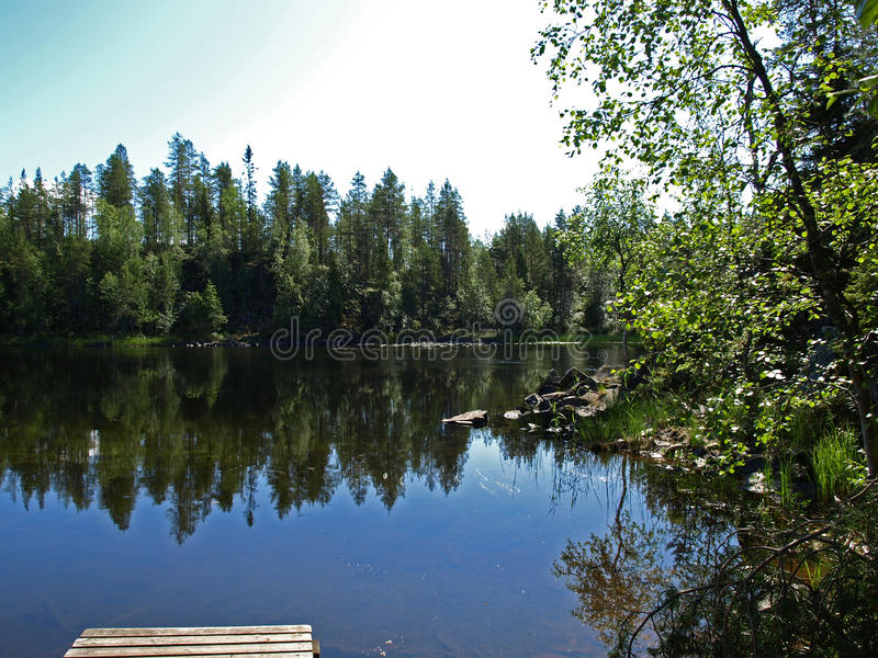 Stationnement national d'Oulanka photos stock