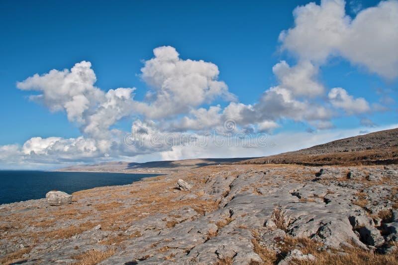 Stationnement national de Burren, comté clare, Irlande images libres de droits