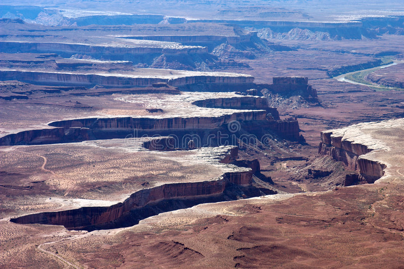 Stationnement national de Canyonlands photo libre de droits