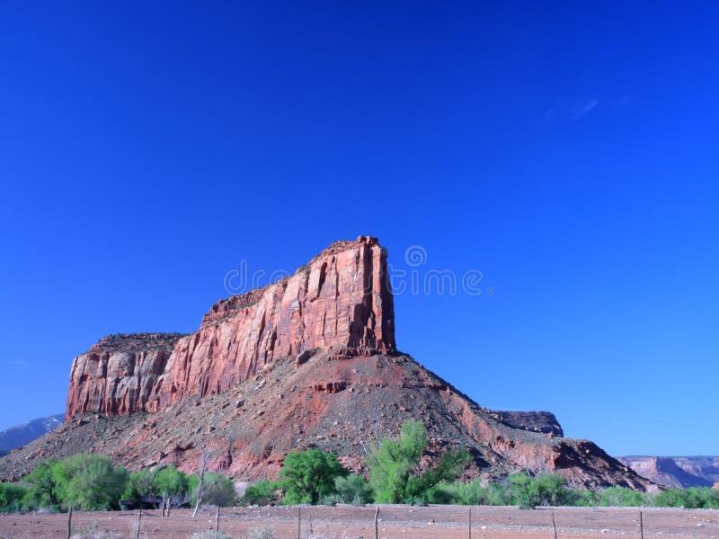 Stationnement national de Canyonlands en Utah photos libres de droits