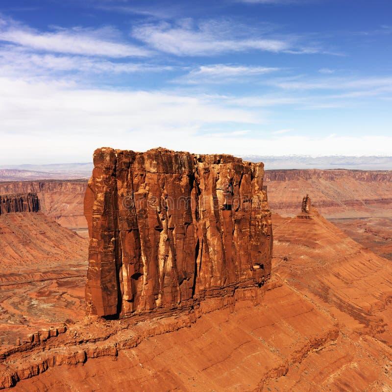 Stationnement national de Canyonlands, Moab, Utah. photo libre de droits