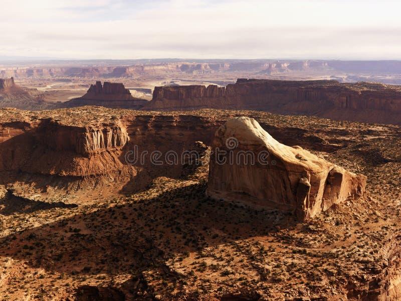 Stationnement national de Canyonlands, Utah. photo libre de droits