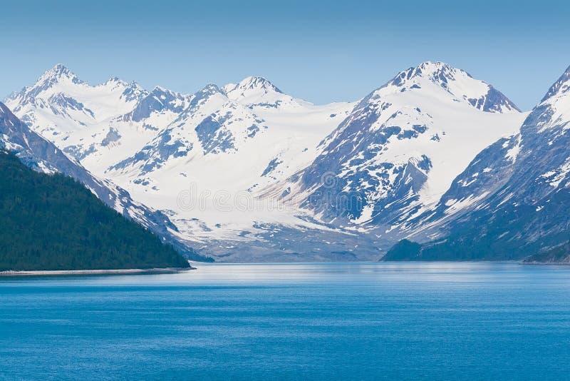 Stationnement national de compartiment de glacier en Alaska photo stock