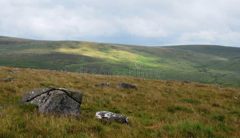 Stationnement national de Dartmoor photo stock