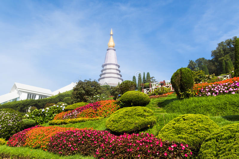 Stationnement national de Doi Inthanon images libres de droits