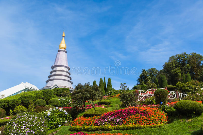 Stationnement national de Doi Inthanon image libre de droits