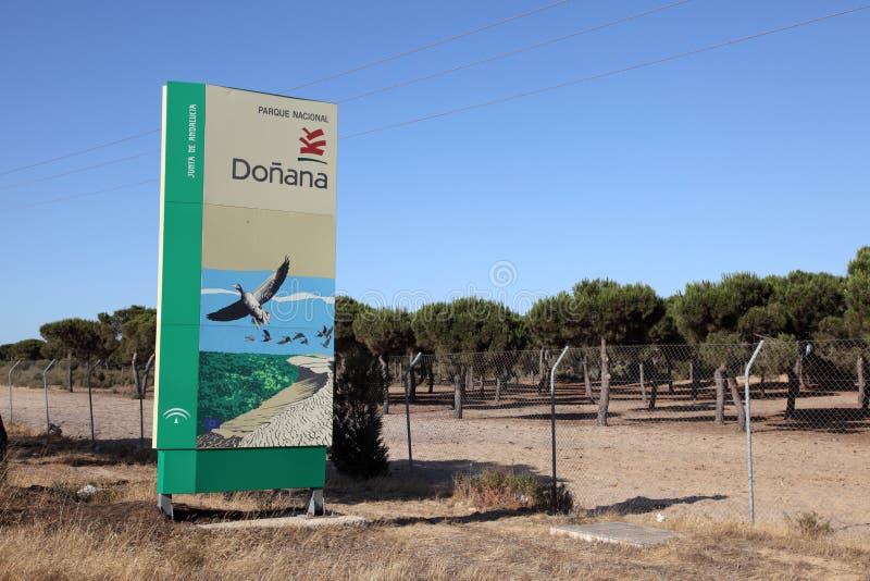 Stationnement national de Donana, Espagne photo stock