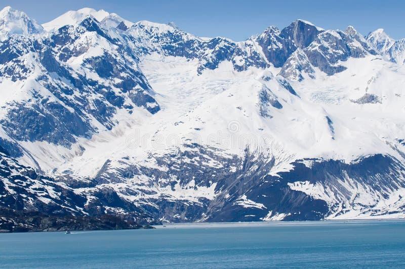 stationnement national de glacier de compartiment de l'Alaska photos libres de droits