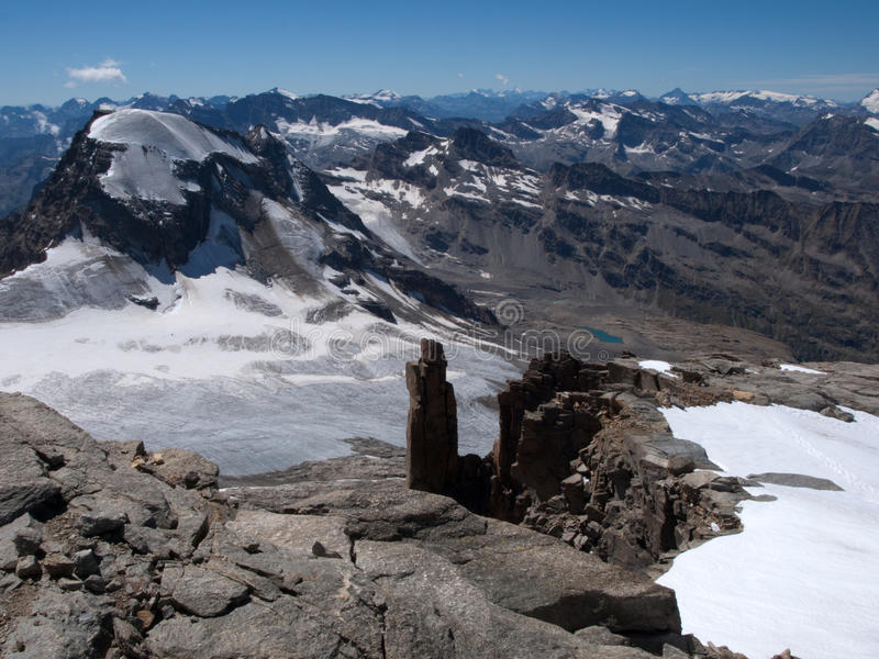 Stationnement national de Gran Paradiso photos stock