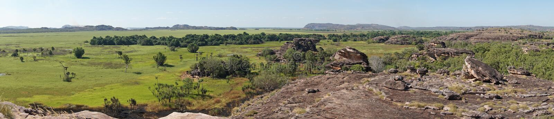 stationnement national de kakadu de l'australie image stock