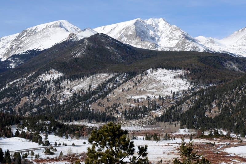Stationnement national de montagne rocheuse photos libres de droits