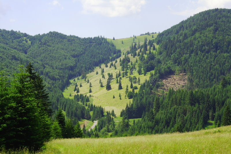 Stationnement national de paradis slovaque image libre de droits