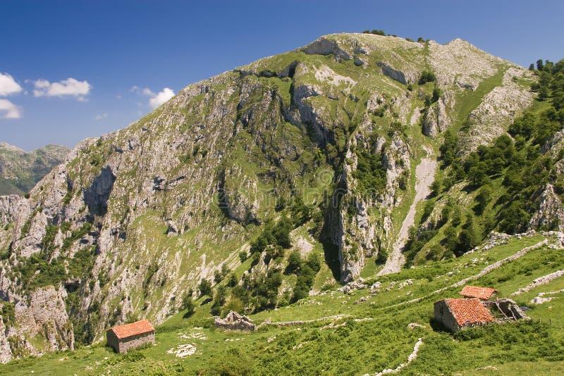 Stationnement national de Picos de Europa photo libre de droits
