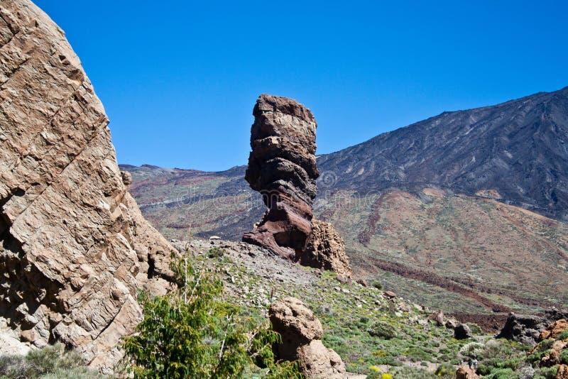 Stationnement national de Teide dans Tenerife photos libres de droits