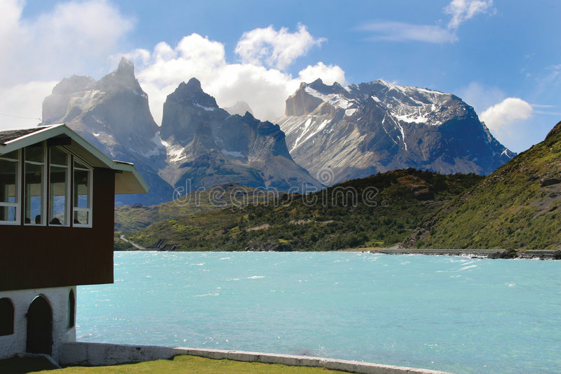 Stationnement national de Torres Del Paine photo libre de droits
