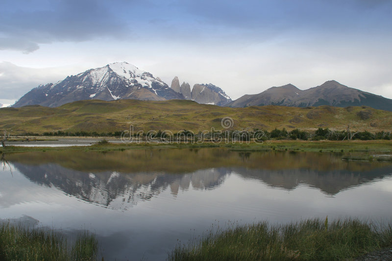 Stationnement national de Torres Del Paine photo stock