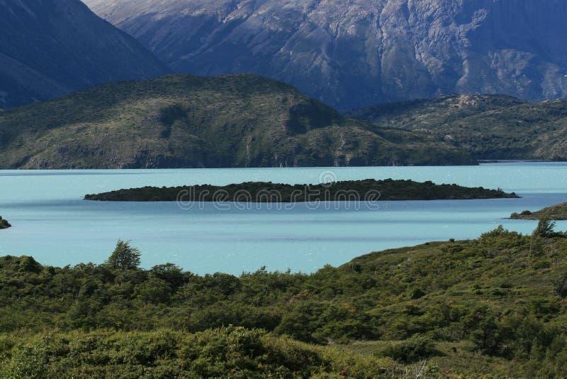 Stationnement national de Torres del Paine image libre de droits