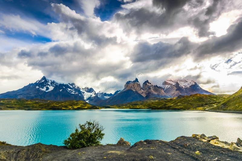 Stationnement national de Torres del Paine, Patagonia, Chili photographie stock libre de droits