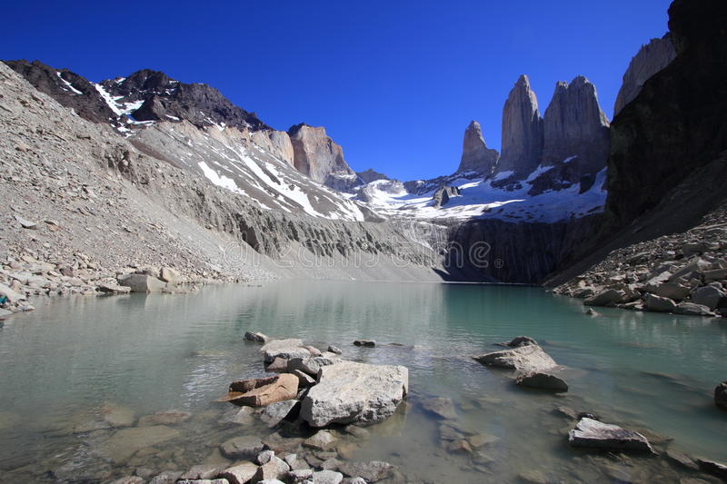 Stationnement national de Torres del Paine, Patagonia, Chili photographie stock