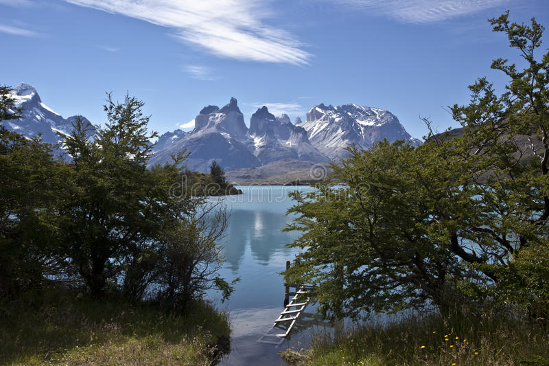Stationnement national de Torres del Paine, Patagonia, Chili images stock
